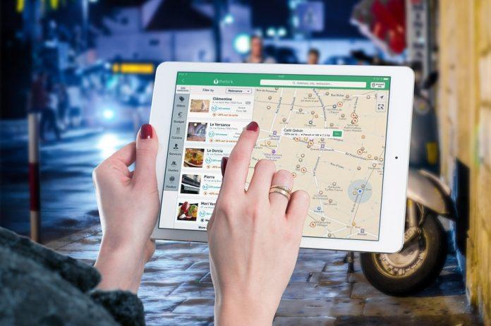 App per itinerari di viaggio