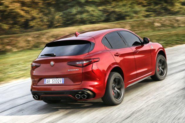 Le 10 migliori auto Alfa Romeo Stelvio Quadrifoglio
