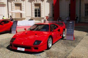 10 migliori auto d'epoca Ferrari F40