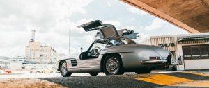 Le 10 migliori auto d'epoca Mercedes 300 sl gullwing