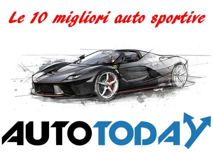 Le 10 migliori auto sportive