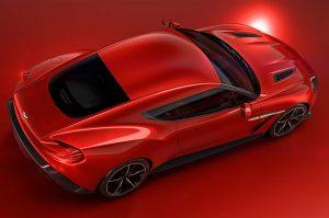 Le 10 migliori auto sportive Aston Martin Vanquish Zagato