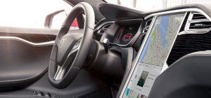 Tesla Model S interni
