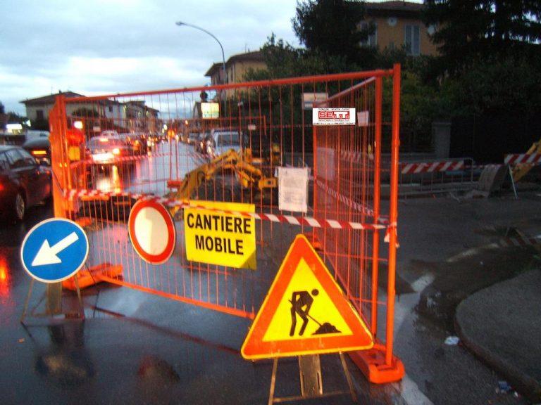 Cantieri stradali: Bosch avverte in anticipo