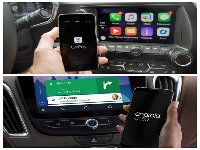 Apple CarPlay o Android Auto