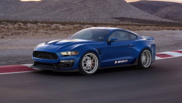 Ford Mustang Shelby 1000: muscle car tutto pepe