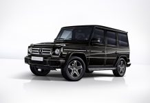 Mercedes Classe G Limited Edition Schockl