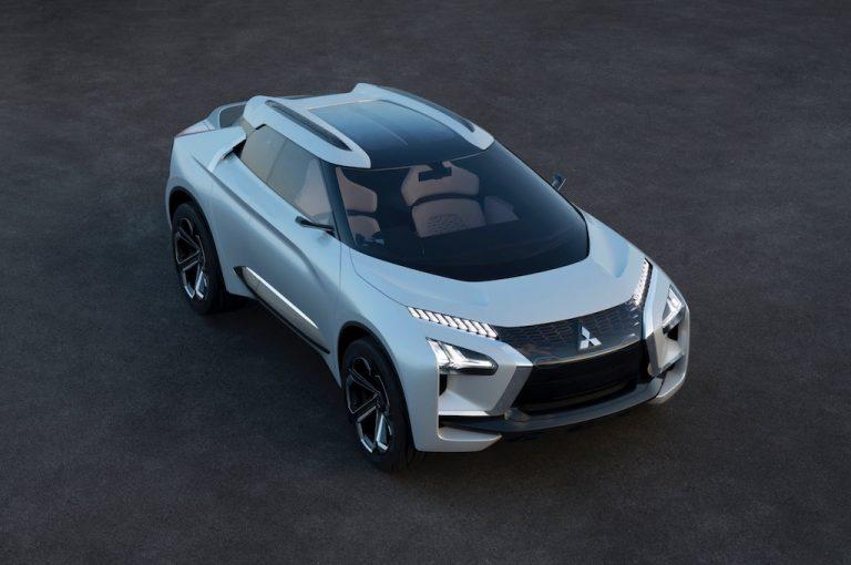 Mitsubishi e-Evolution: assaggi di suv 100% elettrico