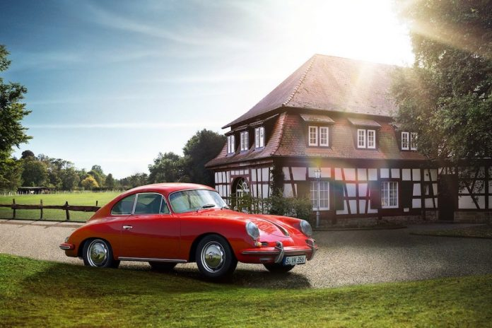 Porsche Classic Vehicle Tracking System