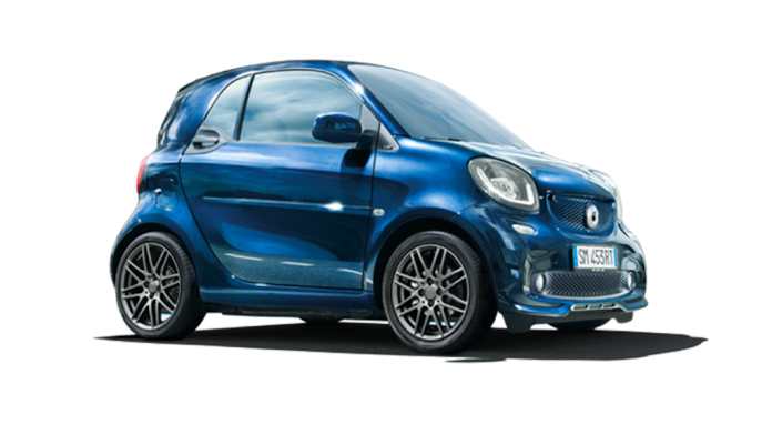 Smart Fortwo Limited Sapphire Blue Metallic