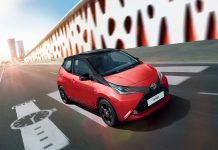 Toyota Aygo X-Cite Red Bi Tone
