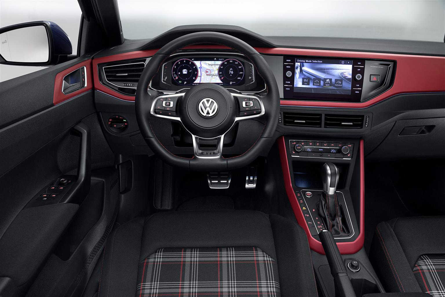 nuova volkswagen polo gti 2018 icona dall indole sportiva. Black Bedroom Furniture Sets. Home Design Ideas