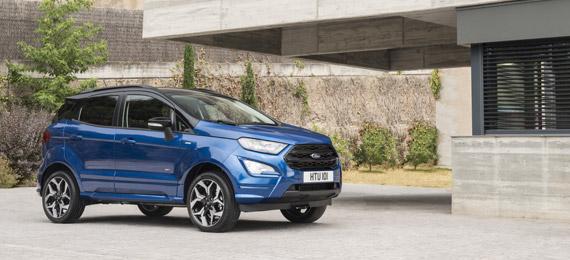 Nuova Ford EcoSport: offerta a 149 euro al mese