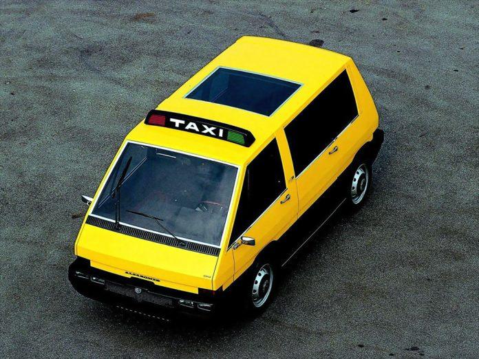 Alfa Romeo NYC Taxi: