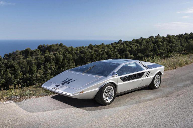 Maserati Boomerang: imitata da molti, ma unica