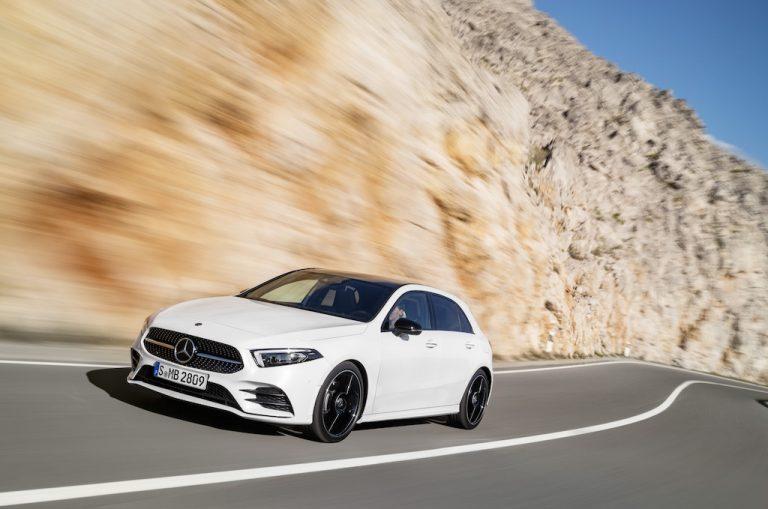 Mercedes-Benz Classe A 2018: tripudio hi-tech