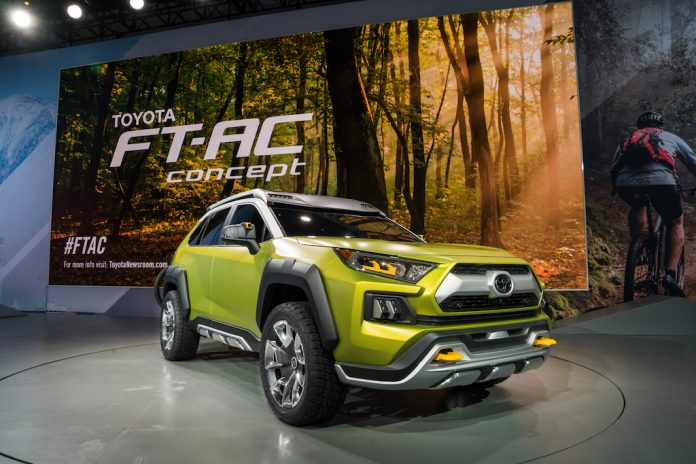 Toyota FT-AC 2018