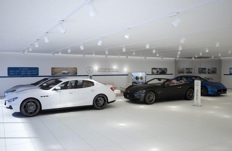 Officine Maserati: attestato l'usato di qualità