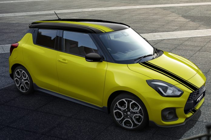 Suzuki Swift Sport Beeracing 2018