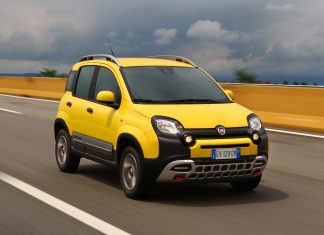 Nuova Fiat Panda 4x4 2018