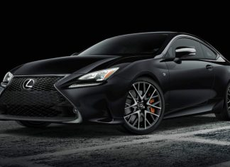 Lexus RC F Sport Black Edition 2018