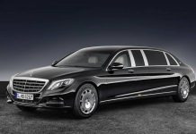 Mercedes-Maybach Pullman 2018