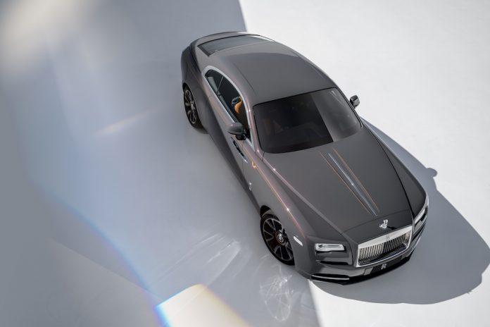 Rolls-Royce Wraith Luminary Collection 2018: