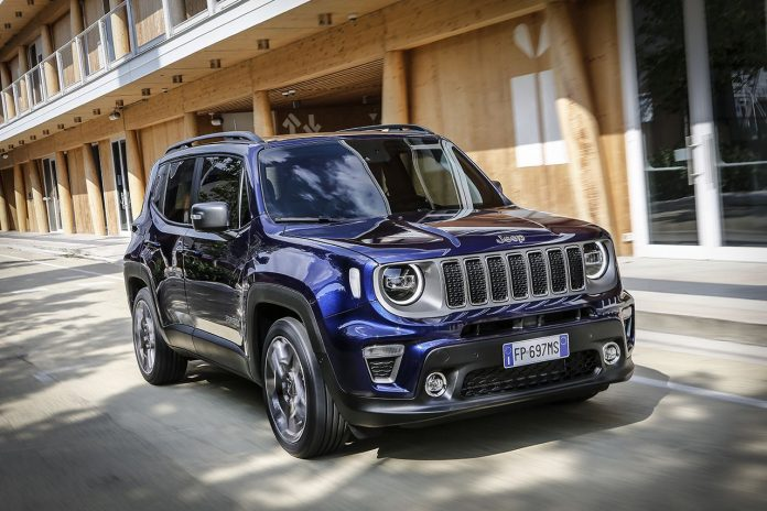 Nuova Jeep Renegade MY19