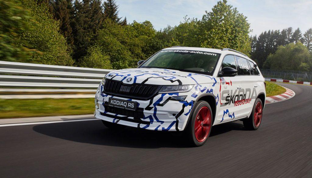 Kodiaq RS Nurburgring 1