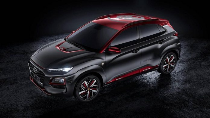 Hyundai Kona Iron Man Edition 2019