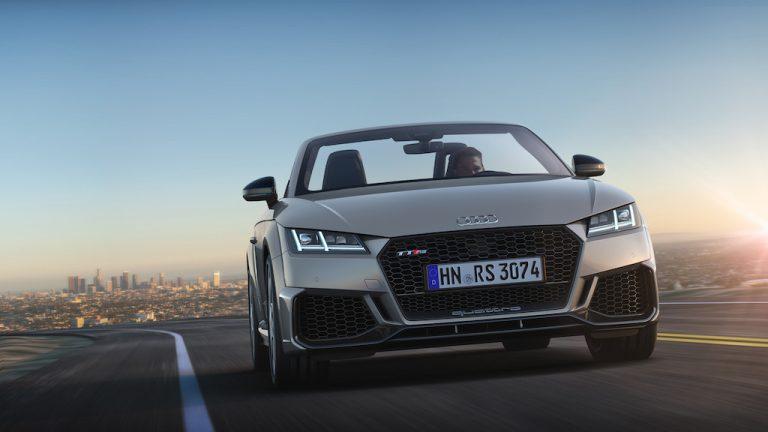 Audi TT RS 2019: le nuove versioni Coupé e Roadster