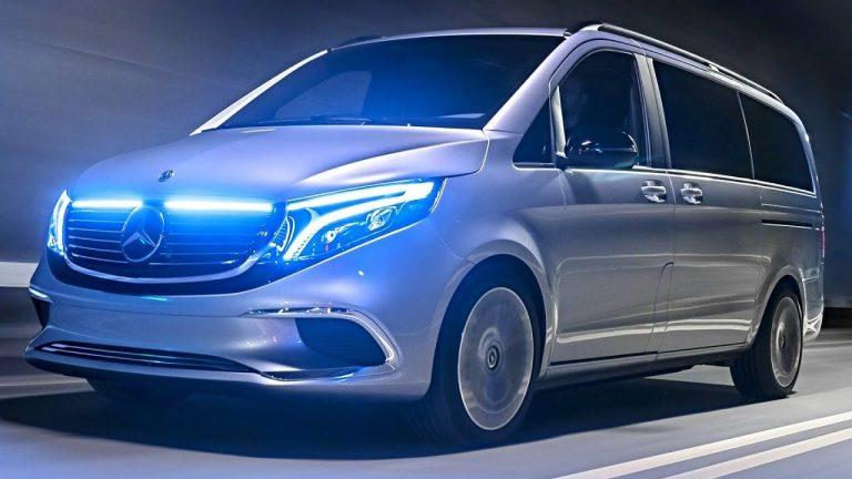 Mercedes EQV 2020: la Classe V è elettrica a emissioni zero