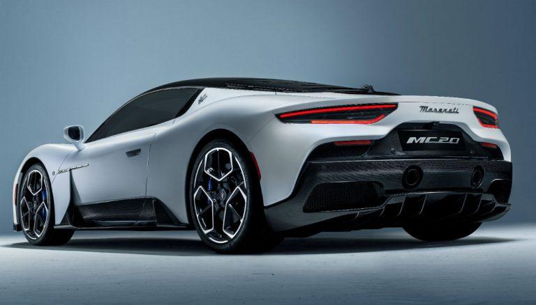 Maserati MC20, la nuova super sportiva con 4 modalità di guida