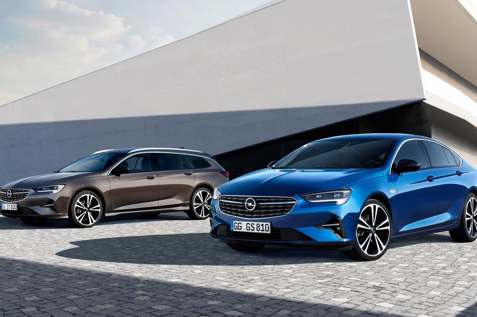 Opel Insignia 2021, restyling con nuovi motori, tecnologie ...