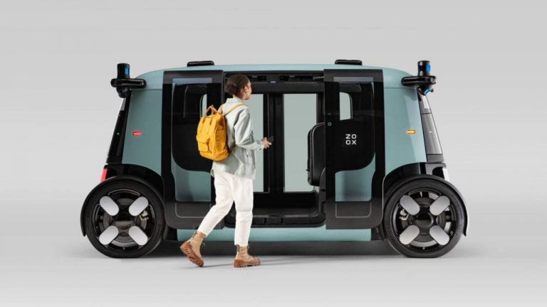 Taxi robot di Amazon senza guidatore, come funziona