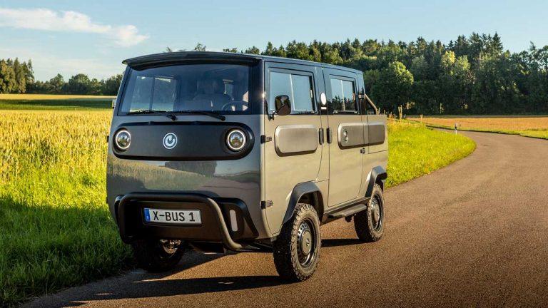 Xbus, il furgone elettrico modulare che si monta e si smonta come un Lego